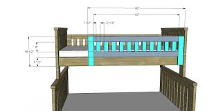 Plans For Building Bunk Beds by Free Woodworking Plans To Build An Rh Inspired Kenwood Twin Over