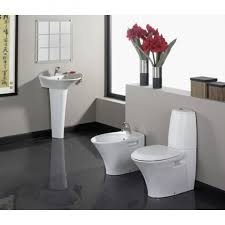 bathroom ethnic round shape padestal sink bathroom design with