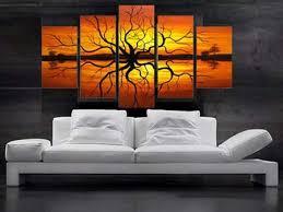 Modern Wall Art For Living Room Home Design - Wall decor for living room