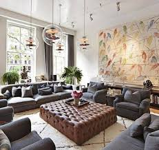 How To Decorate Walls by Excellent How To Decorate A Large Living Room For Home U2013 Great