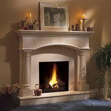 barrington classic stone fireplace mantel mantelsdirect com