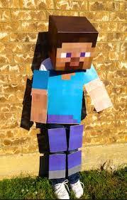 Halloween Minecraft Costume Diy Minecraft Costumes 02 Niños Costumes