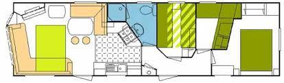 Caravan Floor Plan Layouts Three Bedroom Static Caravan On A Farm In Peak District Uk