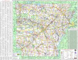 Large Map Of Usa by Large Detailed Map Of Arkansas With Cities And Towns