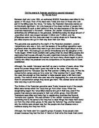 essays about the holocaust Ddns net   research paper topics