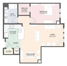 Two Bedroom Apartment Floor Plans One And Two Bedroom Apartments Over 55 Communities Massachusetts