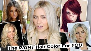 Best Hair Colors For Cool Skin Tones The Right Hair Color For Your Skin Tone How To Find Your Skin