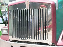 Kenworth T800 Grill With 17 Vertical Bars Raney U0027s Truck Parts