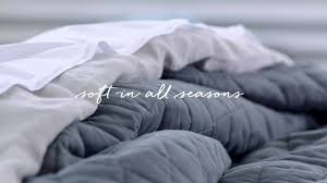 the perfect bedding for all seasons west elm youtube