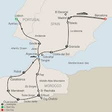 Madrid Spain Map by Spain Tours Globus Europe Vacations