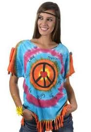 Flower Power Halloween Costume Summer Love Costume Flower Power Hippie