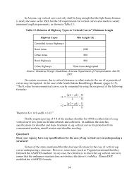 chapter 4 practitioner survey results sag vertical curve design