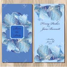 Printable Invitation Card Stock Wedding Invitation Card With Frozen Glass Design Printable