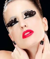 posh beauty halloween eyelashes