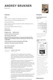Senior Hr Manager Resume Sample by Logistics Manager Resume Samples Visualcv Resume Samples Database