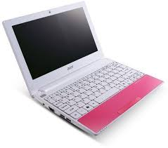 Acer Aspire One Happy pink