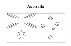 australia flag coloring page eson me