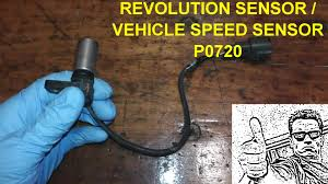 nissan altima jerks while driving revolution sensor p0720 testing and replacement youtube