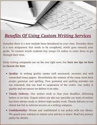 custom essays writing Benefits of using custom essay writing service   Custom Essay     Benefits of using