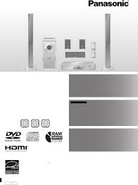 panasonic home theater system panasonic home theater system sc ht940 user guide manualsonline com