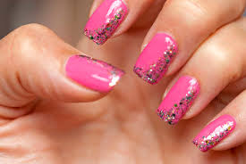 must try 5 ideas of pink easy nail art designs zestymag