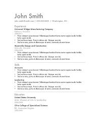 Sample Resume Skills Section Sample Music Education Resume Resume     Sample Resume  Teacher Resume Education Section Elementary School