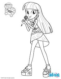 twilight sparkle coloring pages hellokids com