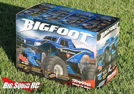 bigfoot king of the monster trucks unboxing u2013 traxxas bigfoot monster truck big squid rc u2013 news