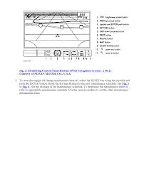 nissan pathfinder oil change interval 2005 nissan armada le my oil change navigation system warning