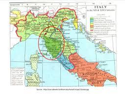 Tuscany Map Canossa U0026 Tuscany Italy Order Of Medieval Women