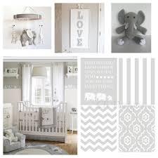 Gender Neutral Nursery Bedding Sets by Gender Neutral Gray And White Elephant Nursery Nursery Prints