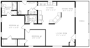 Simple 4 Bedroom Floor Plans Simple House With 4 Bedroom Blueprints With Measurements