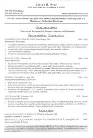 Journeyman Electrician Resume Sample by Samples Of Resumes For Customer Service Jobs Here We Are Going To