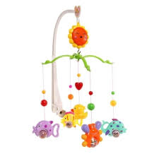 crib bell wind up music bed toy for baby colorful intl lazada ph