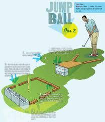 Backyard Golf Hole by Build A Miniature Golf Course In Your Backyard U2013 Boys U0027 Life Magazine