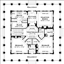 House Plans 2 Story by Classical Style House Plan 3 Beds 3 50 Baths 4500 Sq Ft Plan 64 157