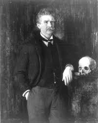 Ambrose Bierce  Portrait by J  H  E  Partington  unknown date