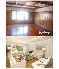 Old Wood Paneling Before And After Best Colors To Lighten Up Dark Paneling Google