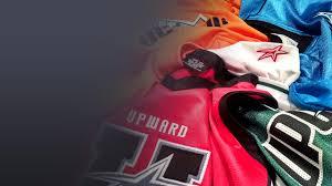 league uniform colors upward sports