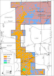 Unm Map Gis Habitat Analysis For Lesser Prairie Chickens In Southeastern