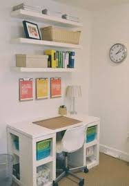 Small Desk Organization Ideas Cute Little Home Office If I Could Downsize All My Stuff To