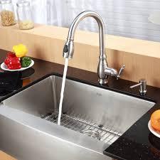 Kitchen Sink With Faucet Set Kraus Kitchen Faucet Kraus Oletto Commercial Style Kitchen Faucet
