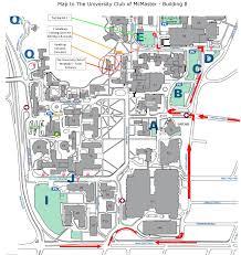 Hamilton Canada Map University Club Of Mcmaster University Club Of Mcmaster