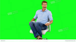 How To Stop Swivel Chair From Turning Smiling Man Turning On Swivel Chair On Green Scree Stock Video