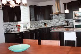 kitchen best dark kitchen cabinets backsplash awesome black