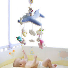 shiloh baby crib music mobile rotating soft plush toy 60 songs