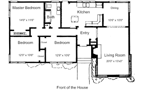 One Level Home Plans 3 Rooms House Plans Latest Gallery Photo