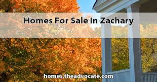 for sale in zachary la