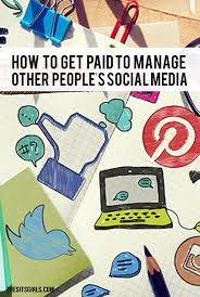 how to get paid to manage social media accounts
