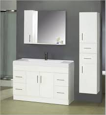 Bathroom Mirror Ideas On Wall Awesome Bathroom Mirror With Frameless Model Over Trendy White